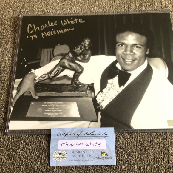Charles white authentic picture